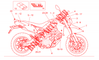 Decal  Toolkit voor Aprilia Dorsoduro ABS 2012