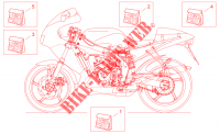 Decal voor Aprilia RS 125 1999