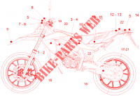 Decal voor Aprilia 50 SX Limited Edition 2016